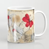 fairytale Mugs featuring FairyTale by Natalie Pudalov