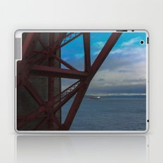 Golden Gate Geometry 2 Laptop & iPad Skin