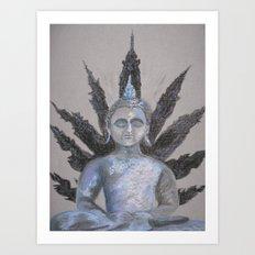 Seated Buddah Art Print