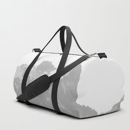 Go Beyond - Black and White Wilderness Nature Photography Duffle Bag