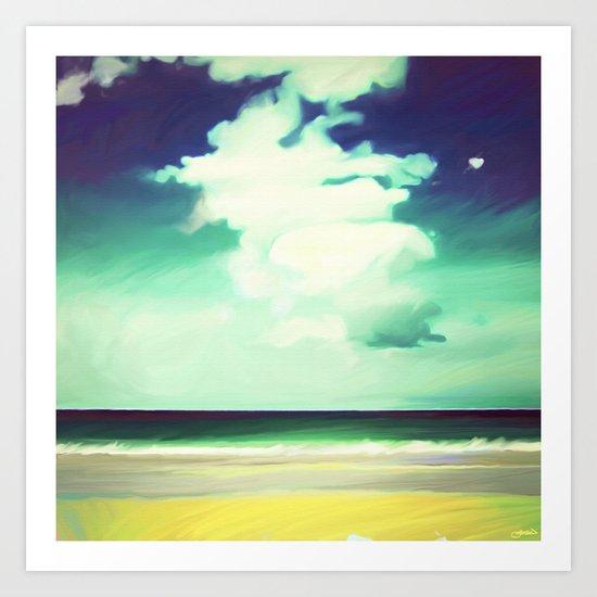 Like a Beach Art Print