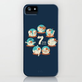 Cats Seven deadly Sins iPhone Case