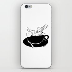 Cappuccino Bath iPhone Skin