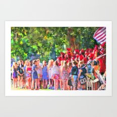 Graduation Song Art Print