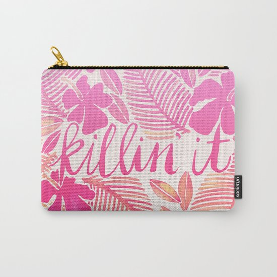 Killin' It – Pink Ombré Carry-All Pouch