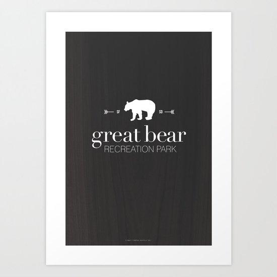 Great Bear Recreation Park Art Print