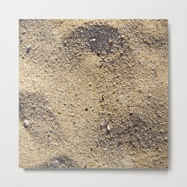 Texture #5 Sand Metal Print