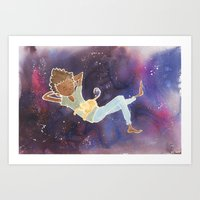 Art Print featuring Float 2 by Kate Solow