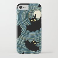 bats iPhone & iPod Cases featuring Bats by Rceeh
