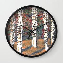 Autumn 12 Wall Clock