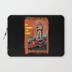 Woman in the red dress meets The Mummy Laptop Sleeve