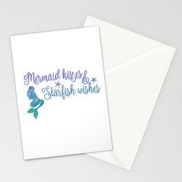 Mermaid Kisses Starfish Wishes Stationery Cards