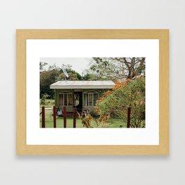pura vida Framed Art Print