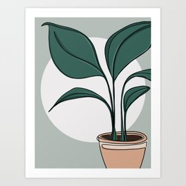 All Natural Art Print