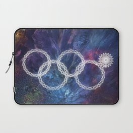 Sochi Olympic Rings Laptop Sleeve