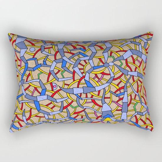 - spaceweb - Rectangular Pillow