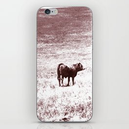 Cow No. 002 iPhone Skin