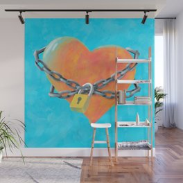 Chained Heart Wall Mural