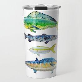 Caribbean Fish Travel Mug