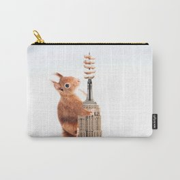 Squirrel-zilla Carry-All Pouch