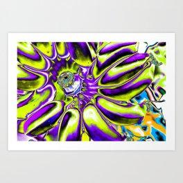 Bananas Pop Art Art Print
