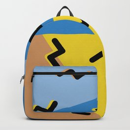 Memphis Style Retro Flash Backpack