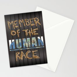 Human Race Stationery Cards