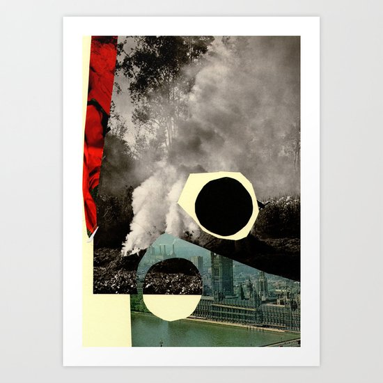 BLACKCIRCLE Art Print