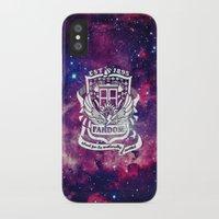 fandom iPhone & iPod Cases featuring Galaxy Fandom Academy by Thg Fashion