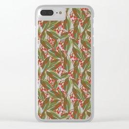 Flowering Gum - Black Clear iPhone Case