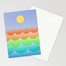 The Sea In My Dreams Stationery Cards