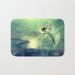 Spirit Of the Night by John Atkinson Grimshaw Bath Mat