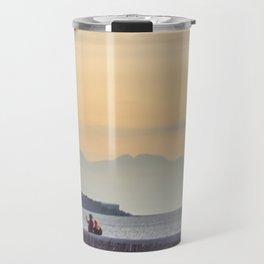 Sunset in Cefalu Travel Mug