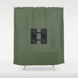 Captain (Green) Shower Curtain