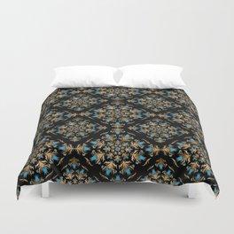 Turkish tulip - Ottoman tile pattern 14 Duvet Cover