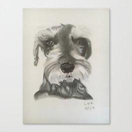 Jed III Canvas Print
