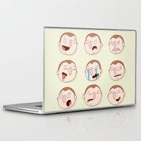 beastie boys Laptop & iPad Skins featuring Boys by Pedro Vilas Boas