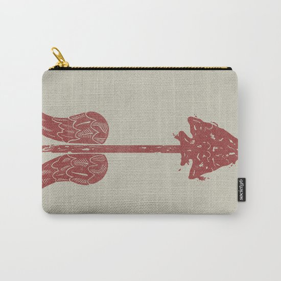 Arrow on the Doorpost Carry-All Pouch