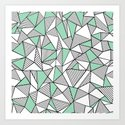 Abstraction Lines with Mint Blocks by projectm