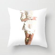 Daisy Dance Throw Pillow