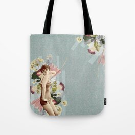 Feminine Collage III Tote Bag