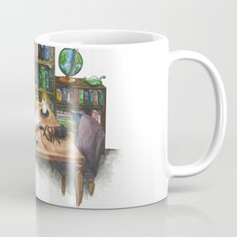 Little Worlds: The Library Coffee Mug