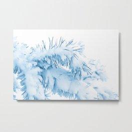 Winter's Pine 6 Metal Print