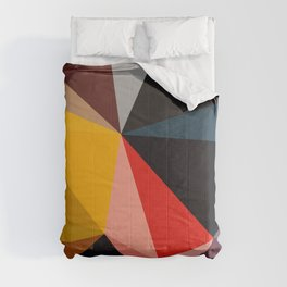 Abstract Geometric Art Colorful Design 502 Comforters