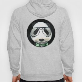 Fancy Panda on Vinyl Hoody