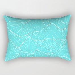 The Cold Blue Rectangular Pillow