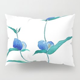 spreading dayflower Pillow Sham