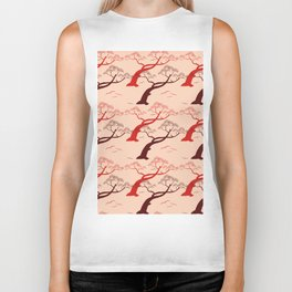 Bonsai Ornamental Trees Biker Tank