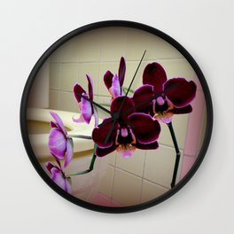 Oh De Toilet-te Wall Clock