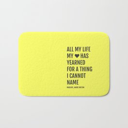 BOOK READS Bath Mat